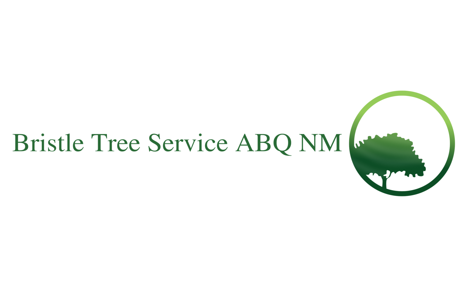 Bristle Tree Service Albuquerque NM Logo